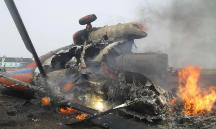 «Не доброе утро!»: на Ровенщине упал вертолет Сухопутных войск, никто не выжил