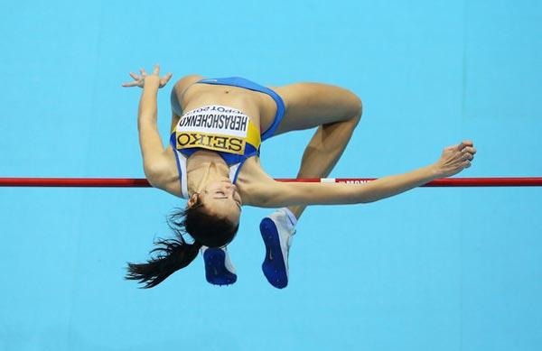 Украинка Ирина Геращенко возглавила мировой рейтинг по прыжкам в высоту