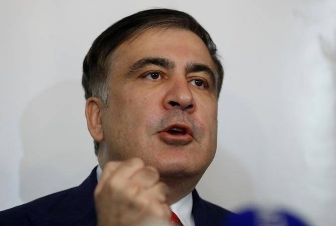 «Мы не можем идти на компромиссы»: Саакашвили заявил, что идет на выборы самостоятельно