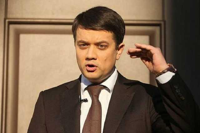 До 6 млн долларов. Разумков рассказал о продаже мест в партии. Не готовы за это отвечать!