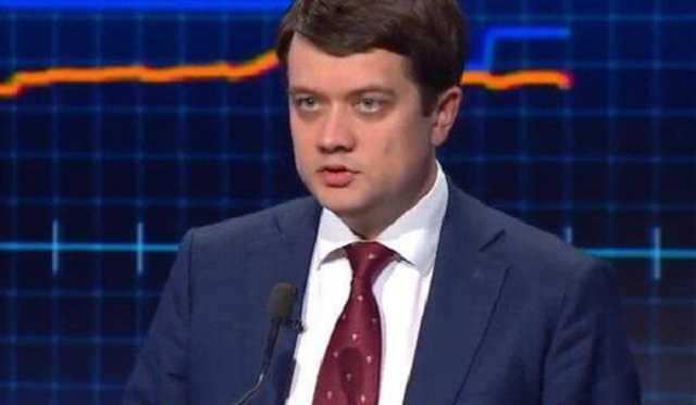 «Неправильно развернуться и уйти»: Разумков резко выразился о демарше Украины в ПАСЕ