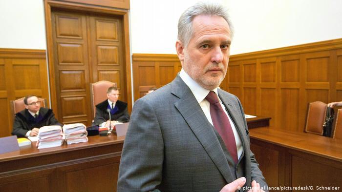 В Австрии началось заседание суда по экстрадиции олигарха Дмитрия Фирташа в США