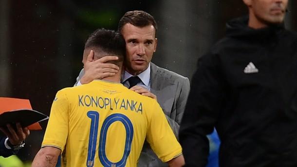 «Там так полетела бутылка, чуть не убила»: Коноплянка рассказал о поведении Шевченко накануне матча с Сербией
