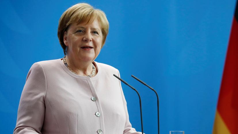 Новый припадок: Ангеле Меркель снова стало плохо на одной из встреч