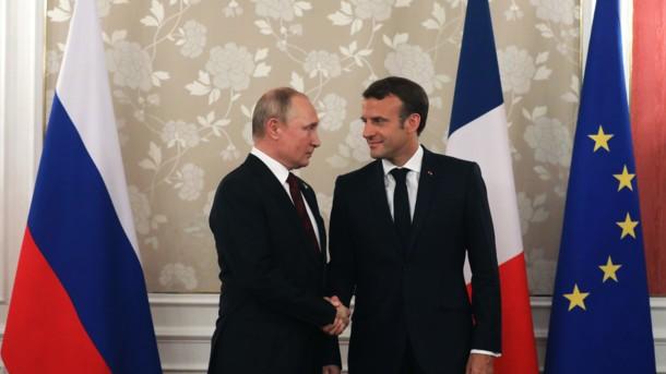 «Нужно решать» украинский вопрос»: Макрона напомнил Путину о саммите в «нормандском формате»
