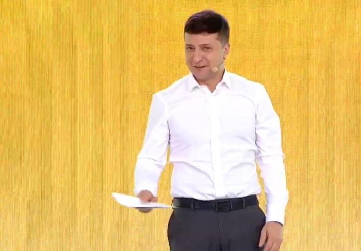 «Это точно моя речь, а не Петра Алексеевича?»: Зеленский отличился троллингом на съезде партии