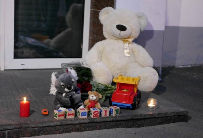 «Полиция убивает детей»: в Киеве собрались возмущенные активисты с требованием наказать полицейских, которых подозревают в жестоком убийстве мальчика