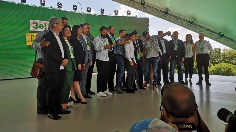 Первая сотня «Слуги народа»: кто еще вошел в партию Зеленского и что про них уже известно