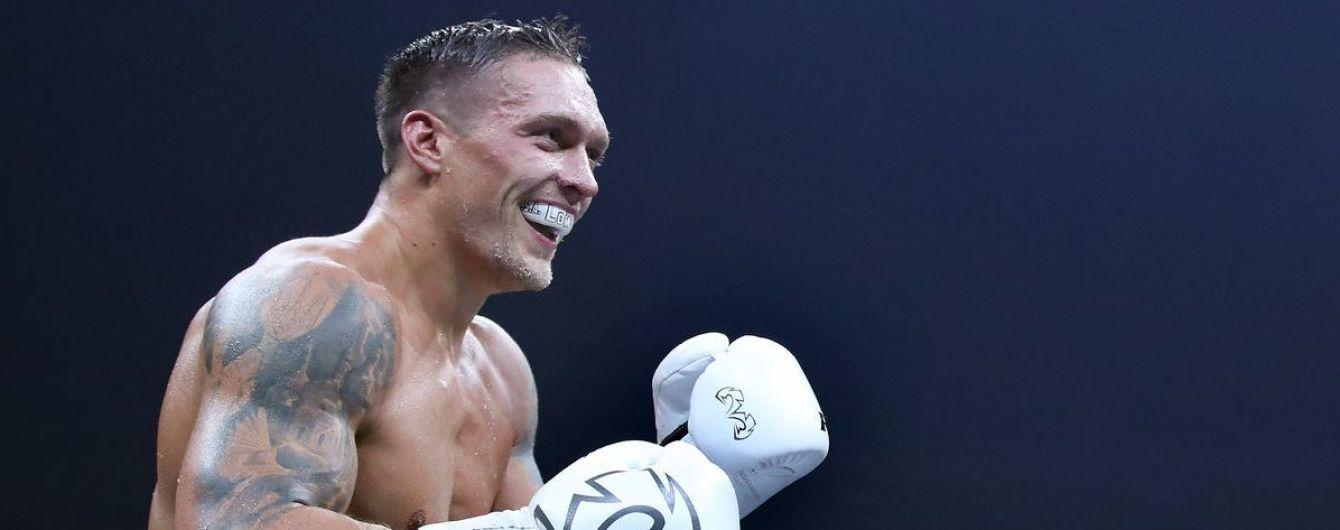 Усик стал главным претендентом на чемпионский бой в тяжелом весе