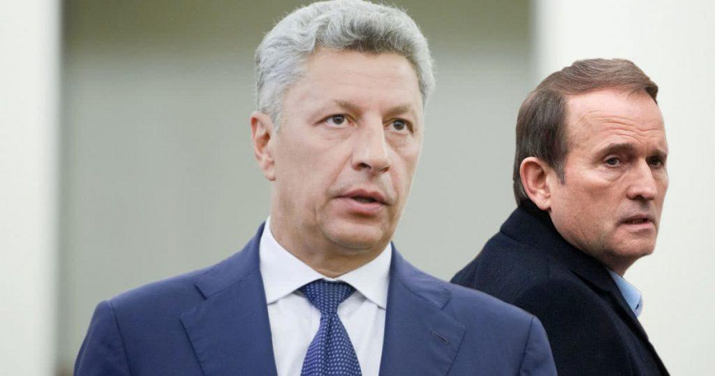 На еще одни «переговоры»: кум Путина Виктор Медведчук и нардеп Юрий Бойко отправились в Россию