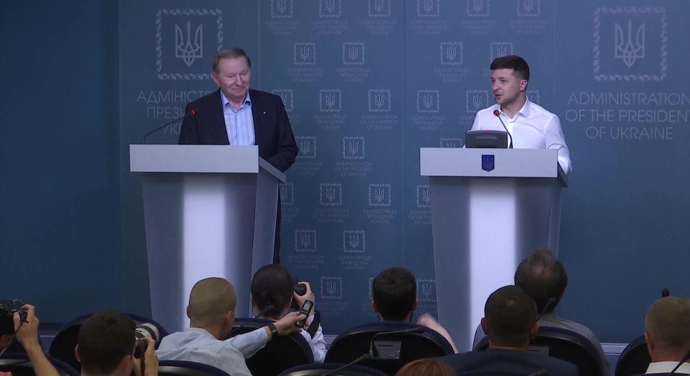 Хочу извиниться! Зеленский поразил своим заявлением на брифинге с Кучмой