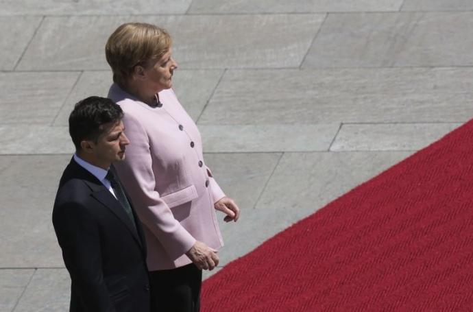 «Она уверена»: Меркель после встречи с Зеленским сделала важное для Украины заявление