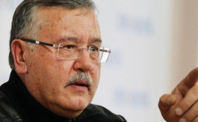 «Давление на Путина»: Анатолий Гриценко обратился к Зеленскому со срочным заявлением