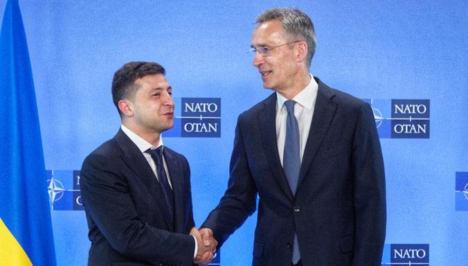 «Мы никогда не признаем незаконную аннексию Крыма»: — Генсек НАТО Столтенберг на встрече с Зеленским