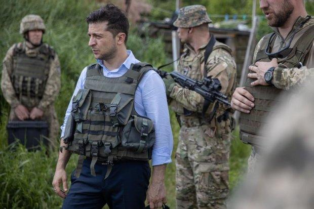 Зеленский стал наблюдателем отражения нападения вражеских сил
