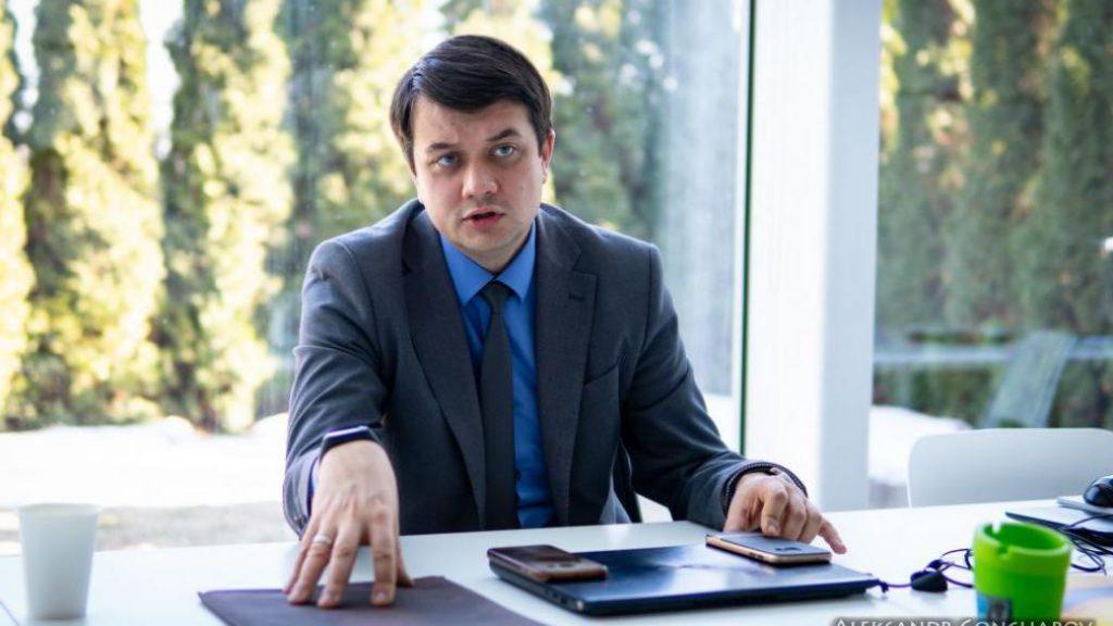 Разумков выдал неожиданное заявление о Зеленском и «Слуге народа»: врут в глаза