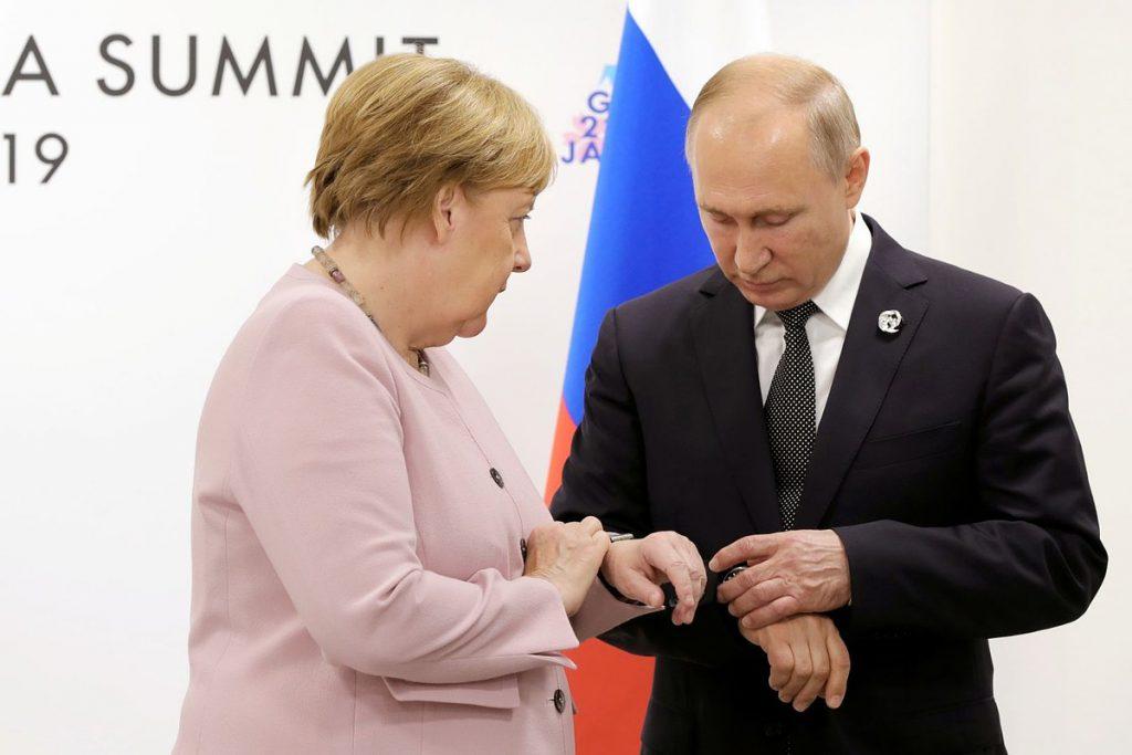 «Что с ней происходит?»: Меркель оконфузилась в Японии после встречи с Путиным