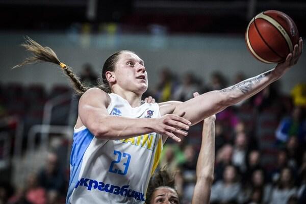 И это только первый день: Украинская баскетболистка установила впечатляющий рекорд на Евробаскете-2019