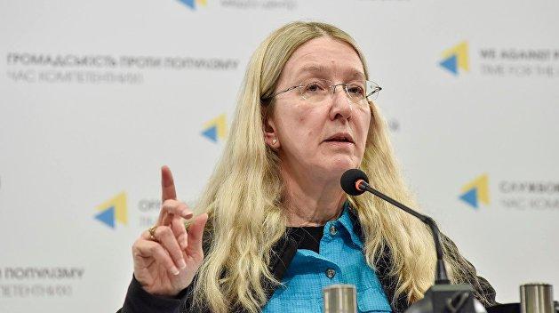 «Спокойно ждем»: Руководительница МЗ Супрун высказалась о своей отставке