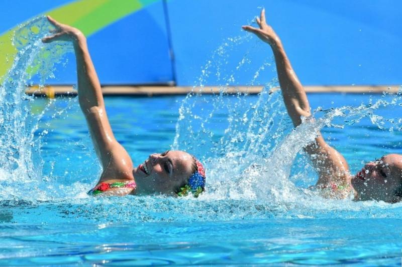 И снова наши первые: сборная Украины по синхронному плаванию завоевала золото и бронзу
