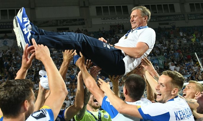 Суперкубок Украины в Одессе: Киевское «Динамо» одержало блестящую победу над «Шахтером»