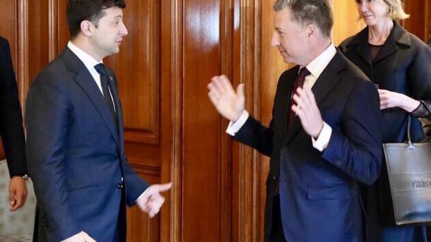 «Четкая приверженность миру на Донбассе»: Курт Волкер поделился впечатлениями после встречи с Зеленским