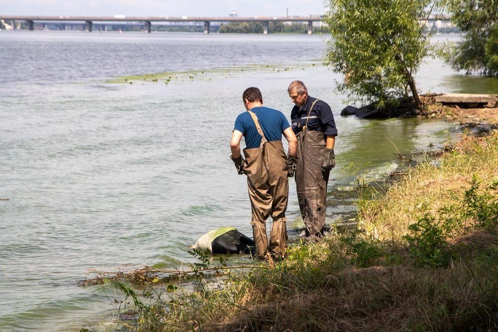 Жуткая находка школьницы: В Киеве девочка обнаружила на берегу Днепра труп женщины