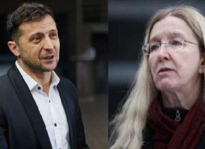 «Это самое важное»: Супрун провела встречу с Зеленским. «Все спрашивайте в Офисе президента»