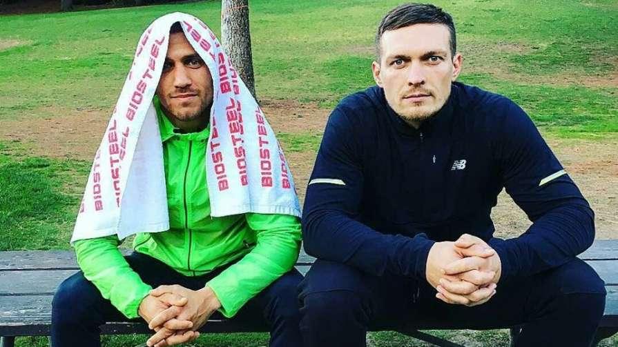 «Вы что сговорились?»: Ломаченко и Усик «обломали» оператора в тренировочном зале