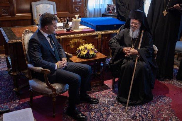 «Что-то пошло не так»: Во время встречи Зеленского и патриарха Варфоломея произошло непредвиденное. В ОПУ не комментируют