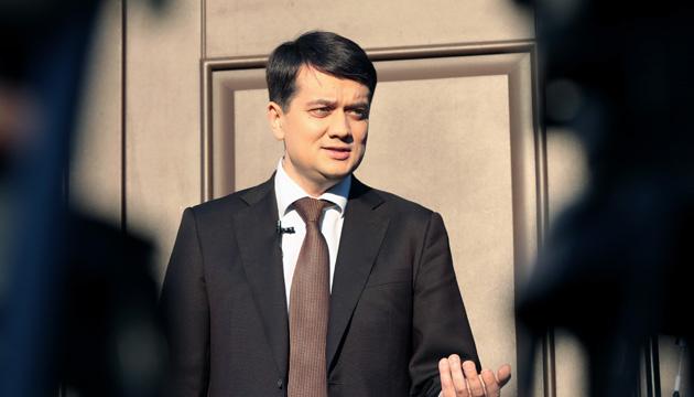 Одно другому не противоречит: Разумков назвал имена кандидатов на должности председателя ВР и вицеспикера