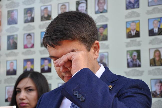 «Нам стыдно, если …»: Рада избрала Разумкова председателем Парламента. 382 голоса «за»