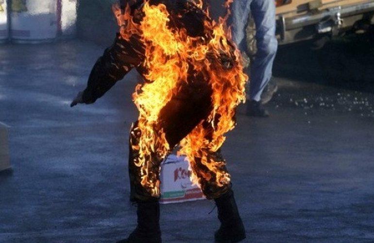 Огненный конфликт: На Полтавщине киевлянин сжег себя заживо из-за ссоры с женой