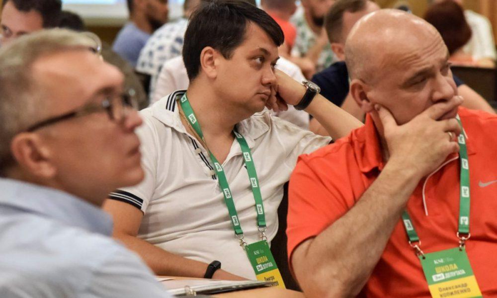 Разумков сделал то, чего украинцы никак не ожидали: что наговорил главе партии Парубий