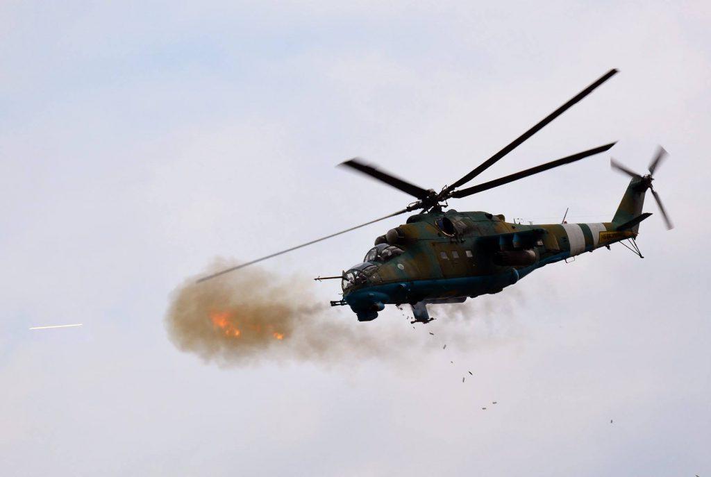 На Львовщине во время военных учений разбился вертолет: первые подробности