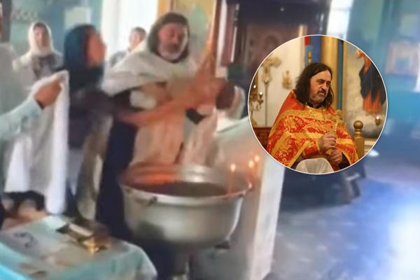 «Первые секунды — шок и оцепенение»: Священник чуть не убил ребенка во время крещения. Крики и слезы