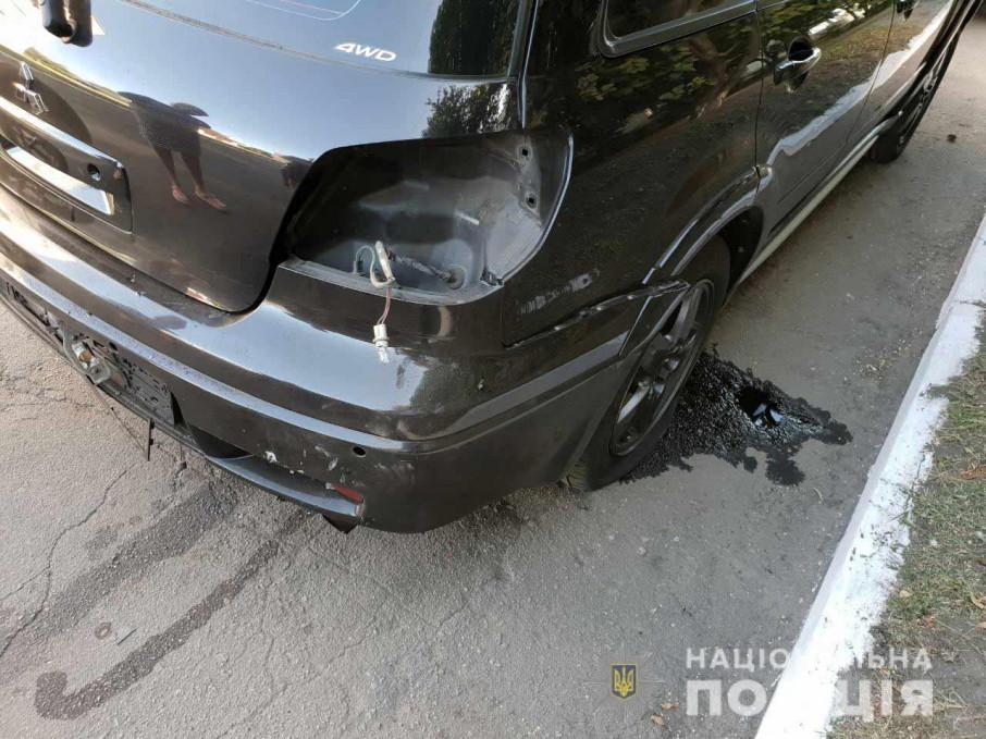 Пробыл за рулем всего 30 секунд: На Днепропетровщине взорвали автомобиль начальника отдела полиции