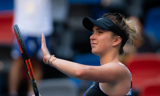 Украинка Элина Свитолина вышла в третий круг турнира в Пекине. Украинцы гордятся