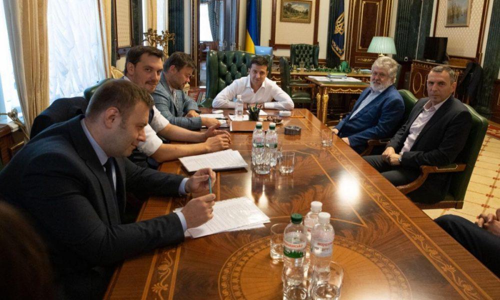 Зеленский встретился с Коломойским: Фесенко объяснил, чего хочет президент