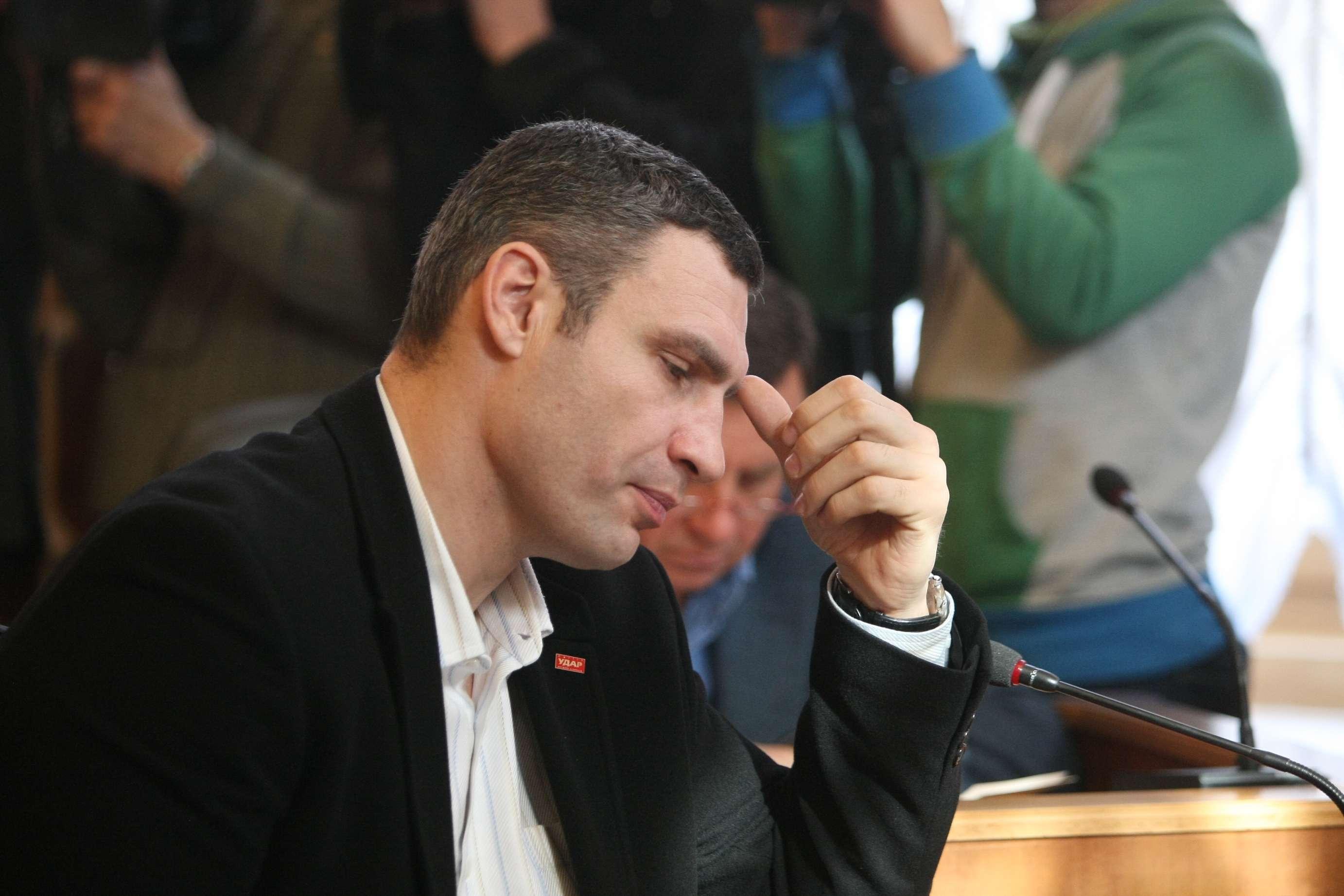 Попросил сделать это за него: Кличко рассказал, как решил избавиться от своих заместителей