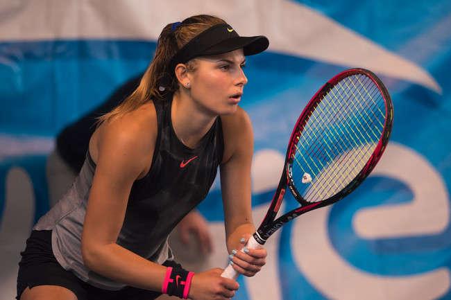 Украинская теннисистка обыграла россиянку на турнире в Ташкенте