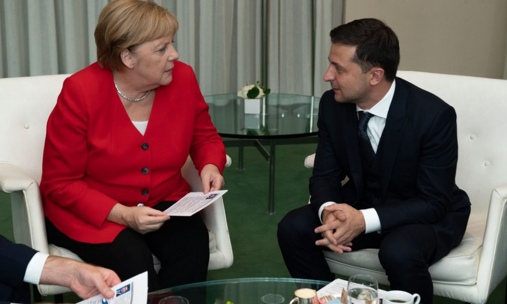 Судьбоносная встреча с Меркель! Зеленский все сказал. Словам верить будут