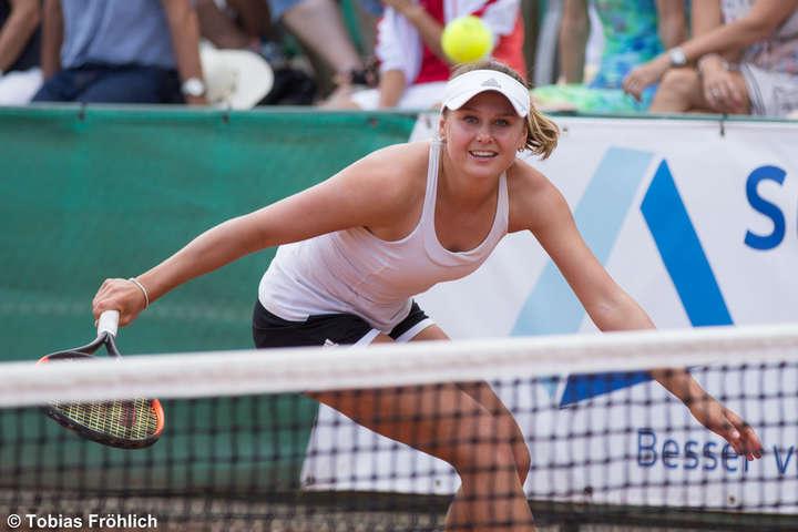 Екатерина Козлова в тяжелом поединке смогла пробиться в основную сетку турнира WTA в Китае