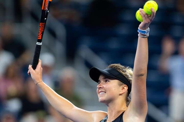 Первая украинка в истории турнира: Элина Свитолина впервые в карьере прошла в 1/4 финала US Open