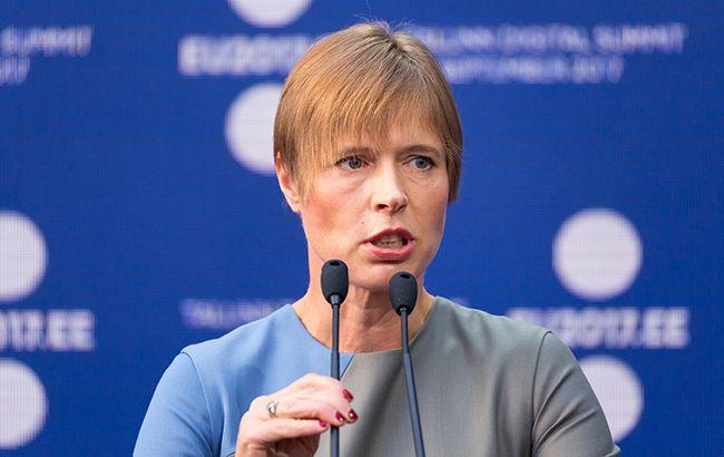 Президент Эстонии прибудет с рабочим визитом в Украину. Зеленский и Разумков ожидают