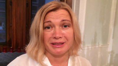 Народ увидел истинное лицо «чорноротници» Геращенко и компании: плюй в лицо