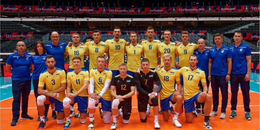 Сборная Украины сенсационно пробилась в четвертьфинал чемпионата Европы по волейболу