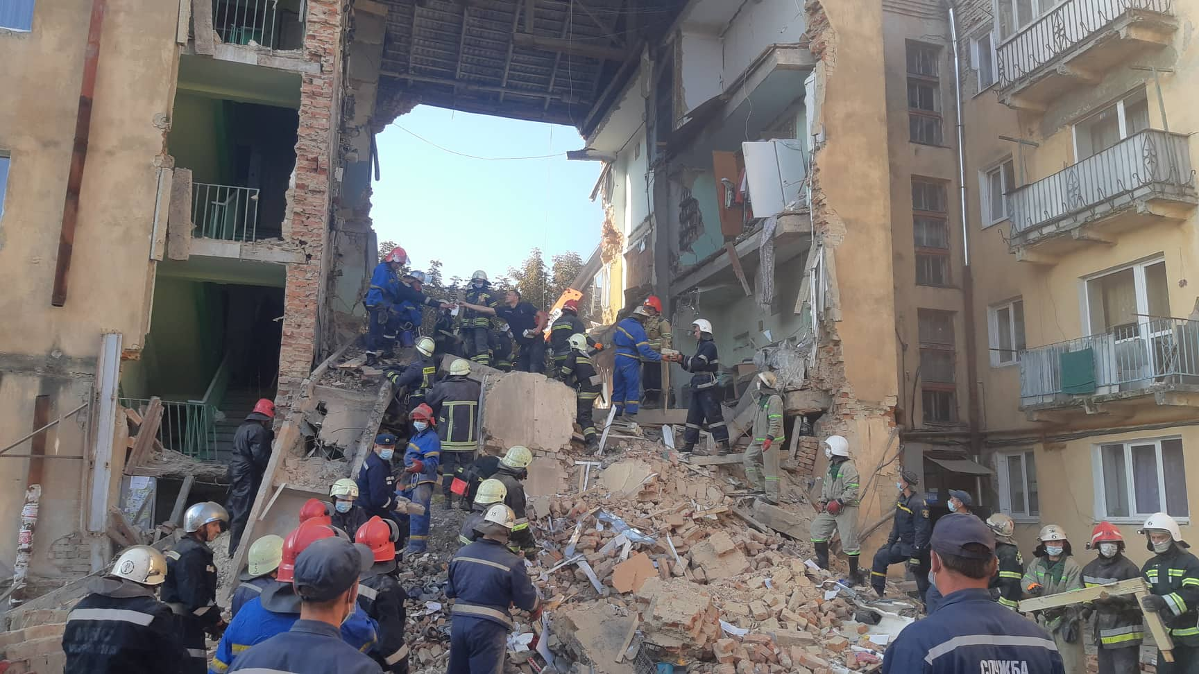 Обрушение дома в Дрогобыче: стало известно о новой потенциальной опасности