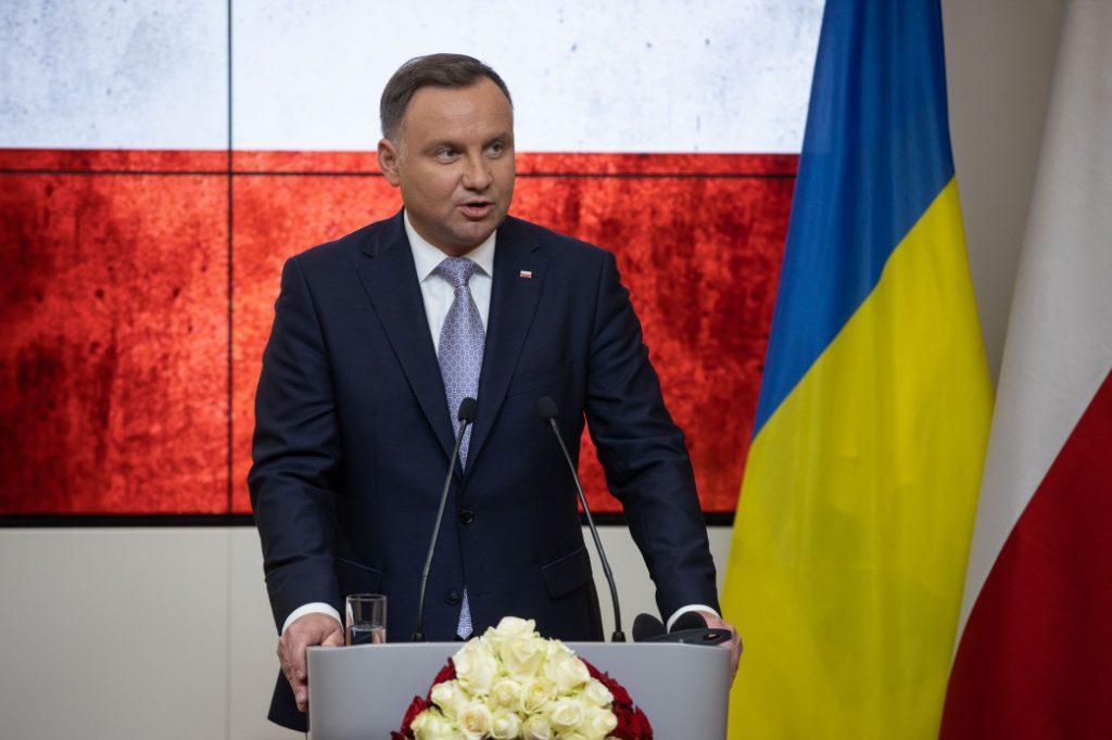 Европа должна решительно реагировать! Президент Польши выступил с резким заявлением про агрессию РФ. Подробности выступления