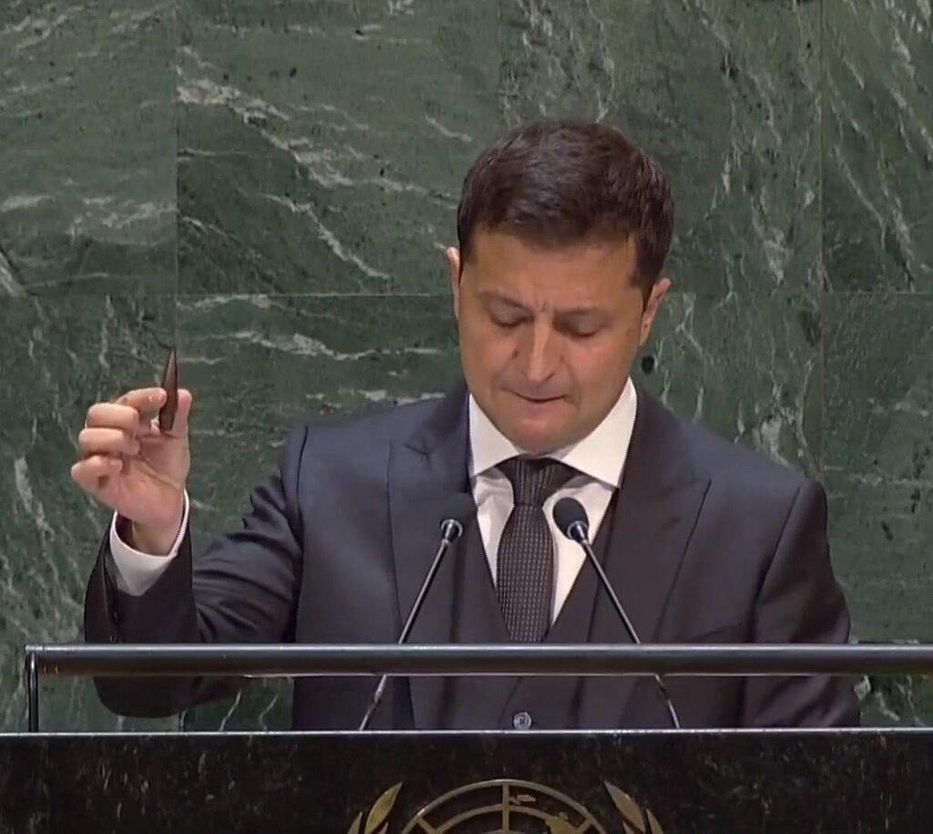 «Руки дрожат»: Зеленский поразил вступлением своей речи на Генассамблее ООН. Просто слезы на глазах